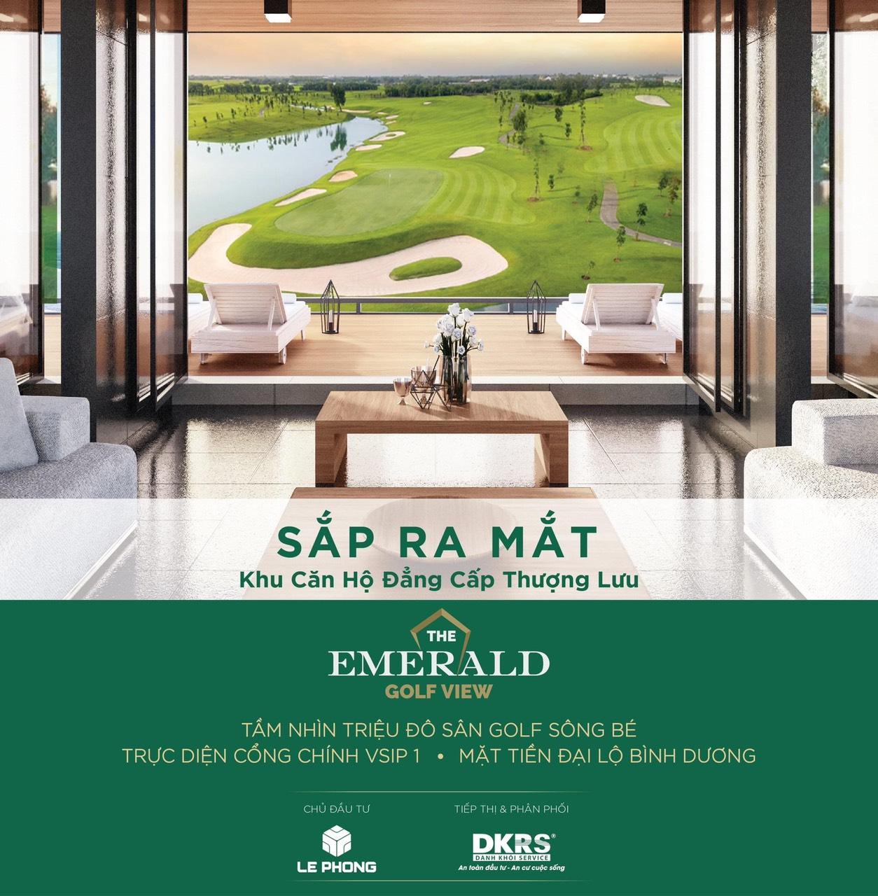 chủ đầu tư The Emerald Golf View